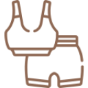 sport-wear brown